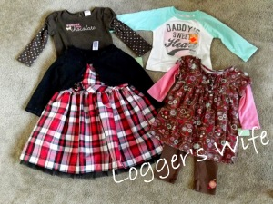 New Clothes for Abby…77% Savings
