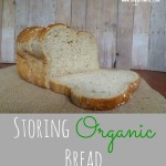 Money Saving Tip: Storing Organic Bread