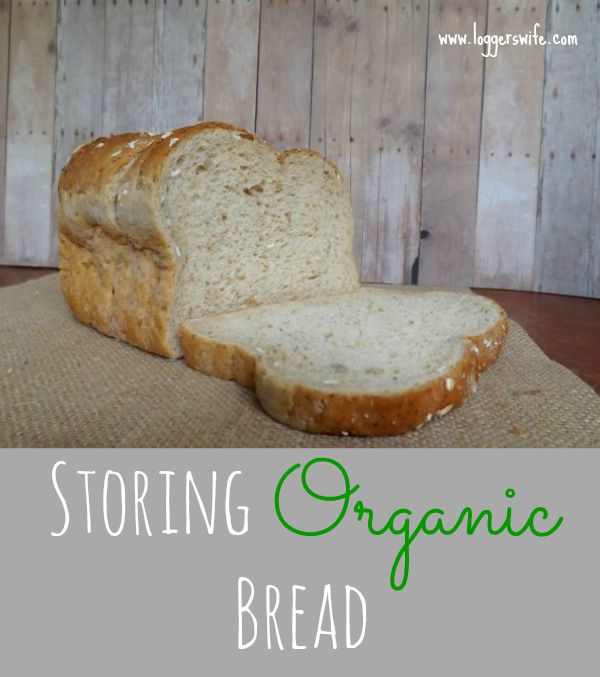 Organic bread is a great choice if you are avoiding preservatives, etc. But it can mold so fast! Here's a great tip for storing organic bread.