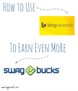 How to Use Bing Rewards to Earn More Swagbucks
