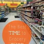 The Best Time to Grocery Shop