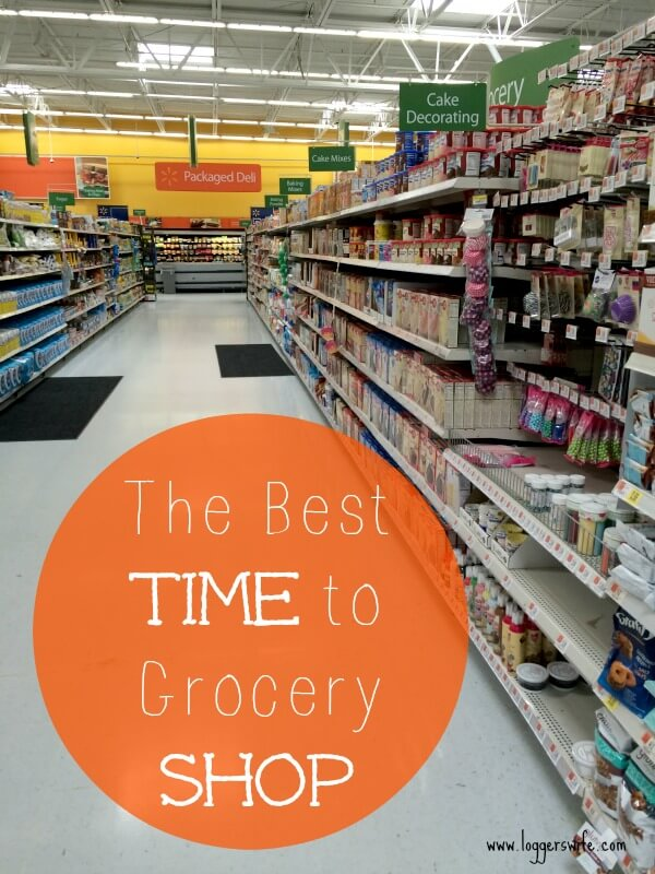 Saving money at the store goes beyond sales and coupons. Read more to see why I think the best time to grocery shop makes a difference.