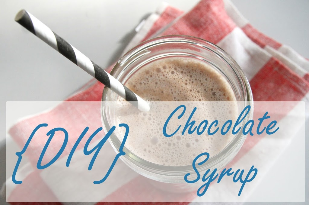 "Homemade chocolate syrup is actually pretty easy! Tastier than the ""chocolate flavored"" stuff you can buy at the store and healthier too."