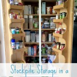 Stockpile Storage in a Small House
