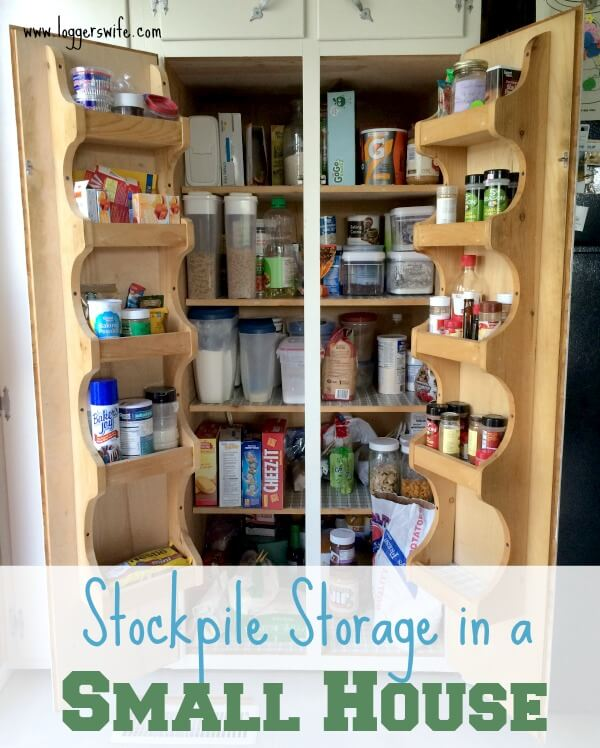 Finding the space and places for having a stockpile when you have a small house. Read more to find some tips to help you make the most of the space you have.
