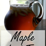 Maple Iced Tea- A Healthier Iced Tea