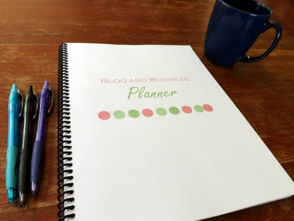 How I Use My Blog Planner...a glimpse into how I use my blog planner to make my life easier