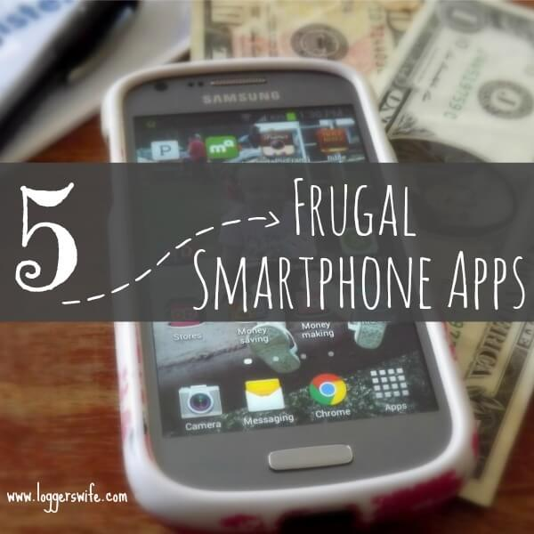 Use your smartphone to earn and save money! Here are 5 frugal apps that will make your phone pay for itself!