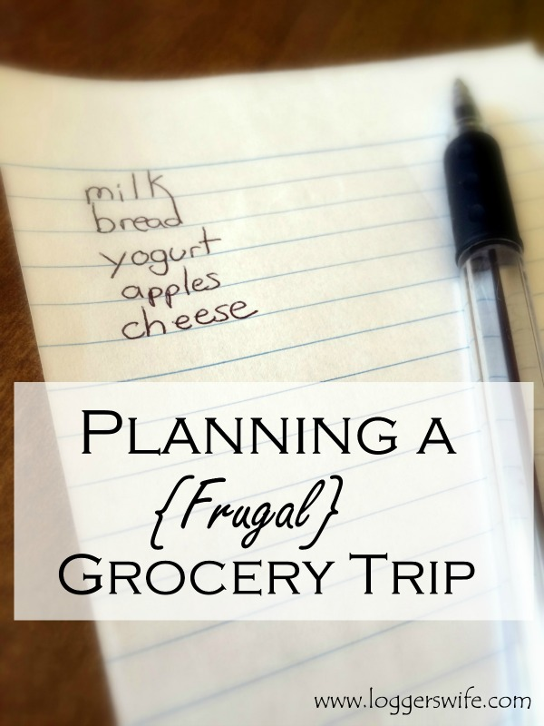 Planning a Frugal Grocery Trip...How to plan a grocery shopping trip can affect how much money you spend. Here's how I plan a trip to keep it within the boundaries of my frugal living lifestyle.