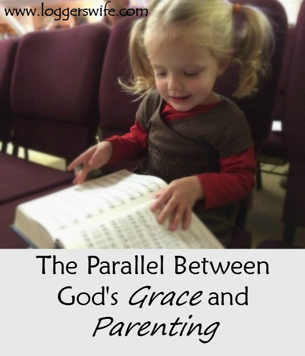 God's grace and parenting