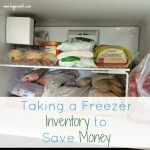 Taking a Freezer Inventory to Save Money