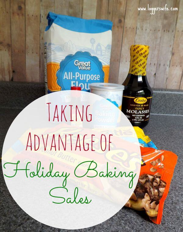 Taking Advantage of Holiday Baking Sales...learn how to be prepared for all those great sales on baking staples