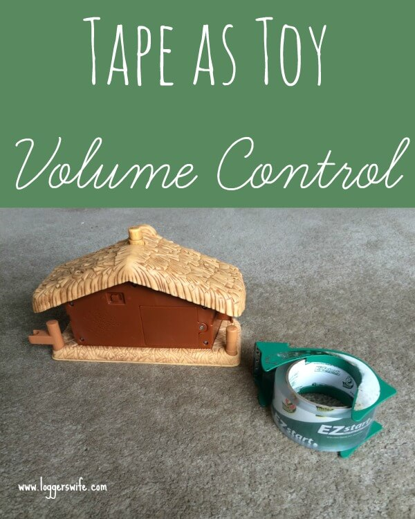 Using Tape to Create Toy Volume Control