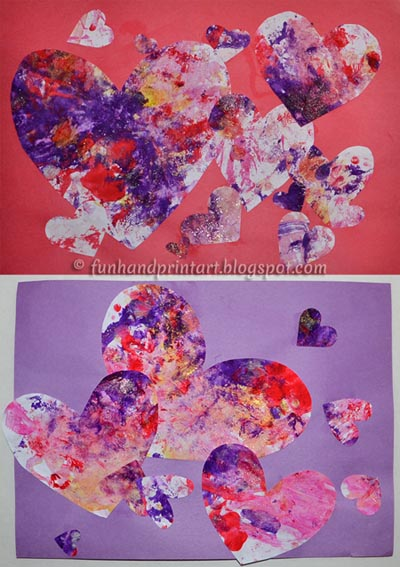 Valentines-Painting-Heart-Collage