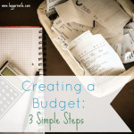 Creating a Budget: 3 Simple Tips