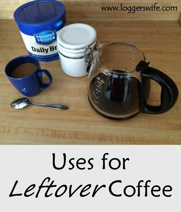 Uses for Leftover Coffee...Sick of throwing out leftover coffee? Learn some great ways to reuse it and stop wasting food and money.