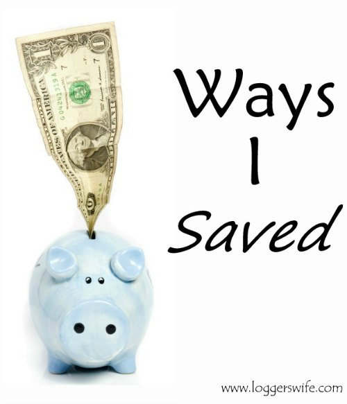 Ways I Saved in January...some of the ways I saved money this month