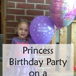 Princess Birthday Party on a Budget