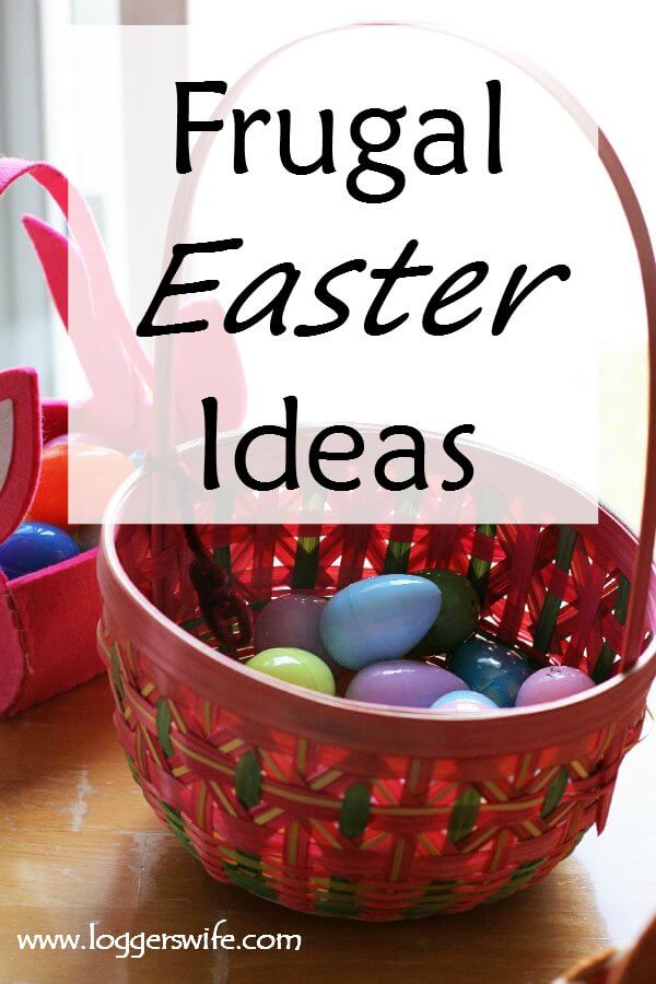 Frugal Easter Ideas--Struggling to find a way to keep Easter on budget but still fun for the kids? Here are some great ideas to help keep your Easter frugal