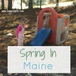 Spring in Maine