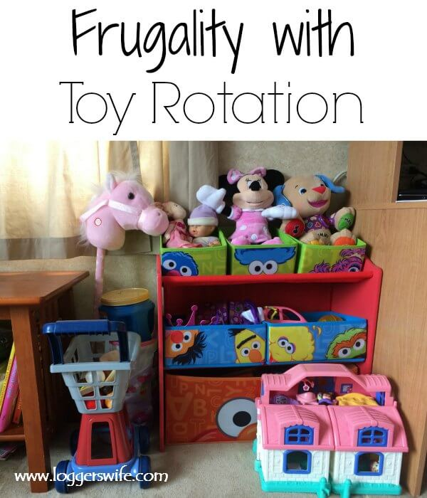 Frugality with Toy Rotation- How we use toy rotation to help save money and stay within our frugal lifestyle