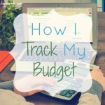 How I Track My Budget