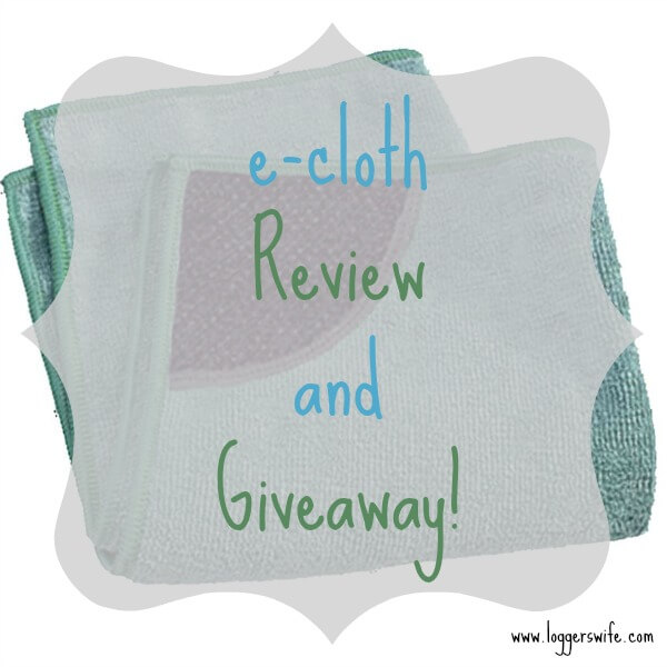 Looking for a way to clean with just water? Check out e-cloth! Enter for your chance to win one of your own!!
