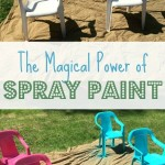 The Magical Power of Spray Paint- My Frugal Secret Weapon