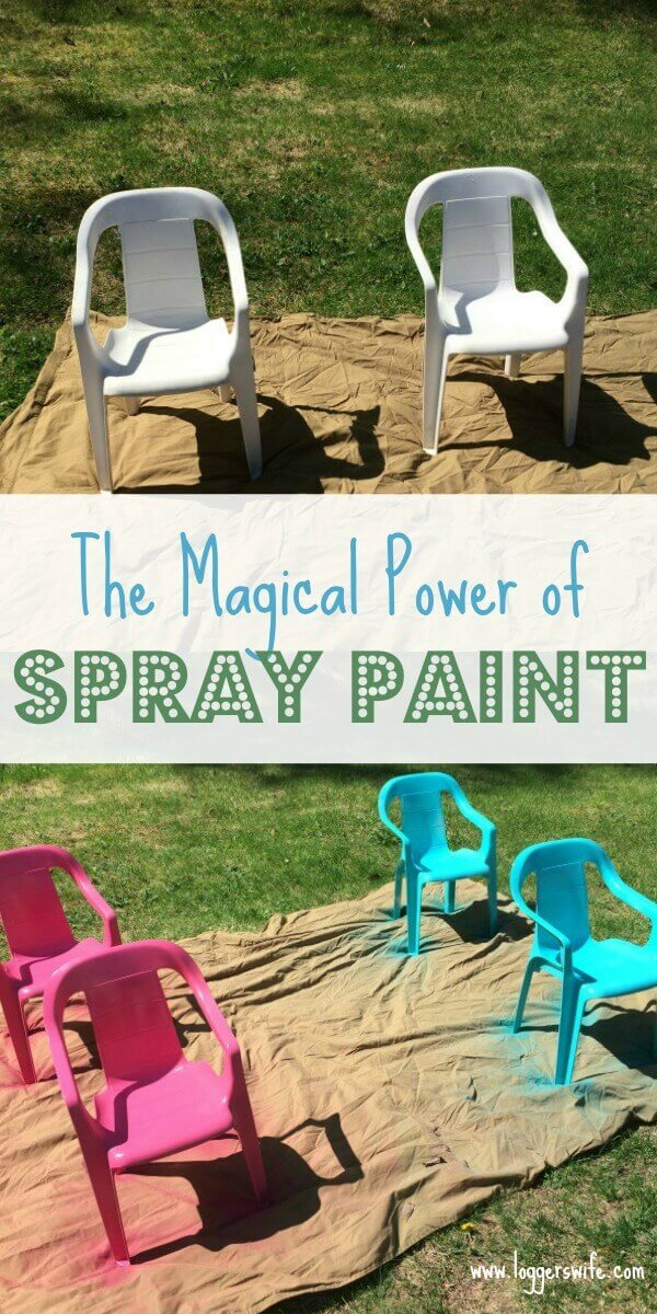 Do you have a frugal secret weapon? Learn how I use spray paint to give old things new life without spending a lot of money.