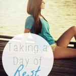 taking a day of rest
