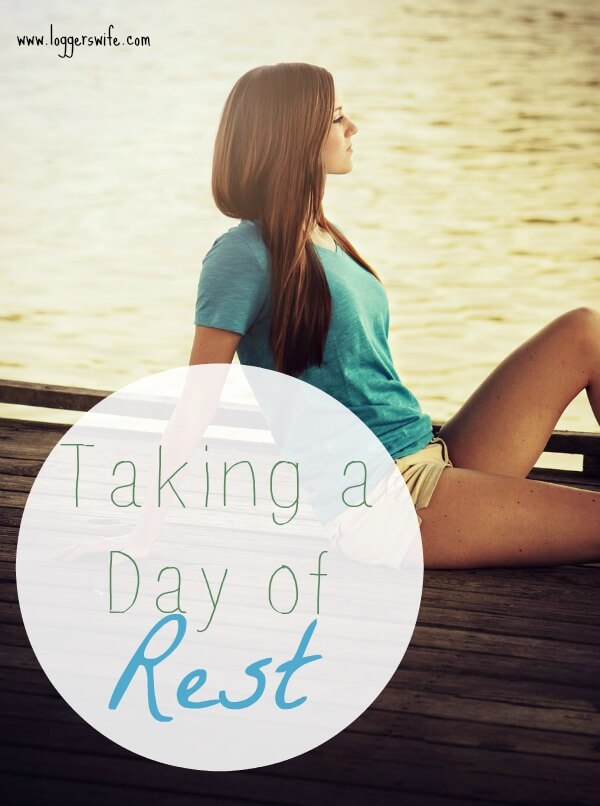 We may think taking a day of rest isn't possible as moms. Read more to find out how I make it work and why I think it is important.