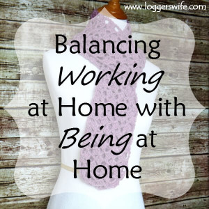Balancing Working at Home and Being at Home