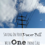saving on your power bill