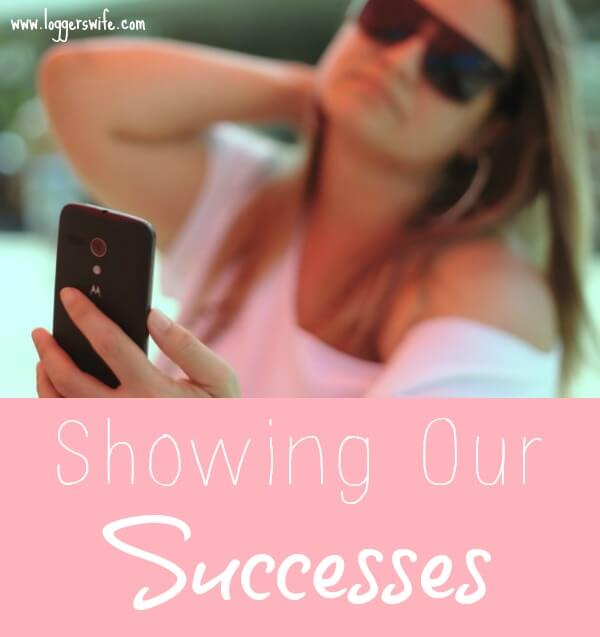 Have you ever thought about maybe that perfect mom doesn't really have it all together? Maybe we are just seeing her successes.