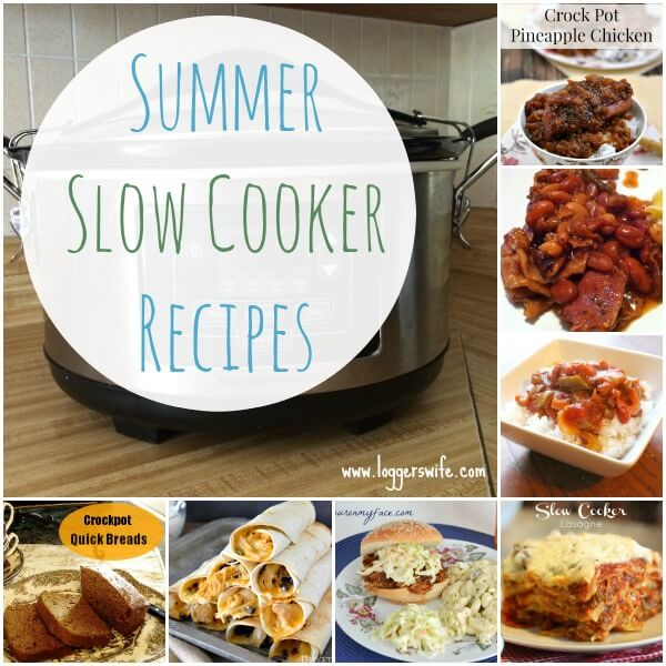 Looking for some great recipes this summer without heating up your house? Check out these summer slow cooker recipes!