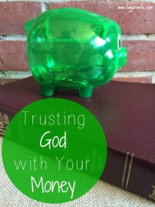 Trusting God with Your Money