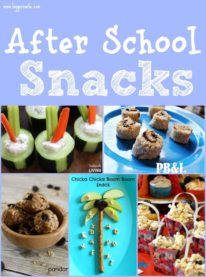 After school snacks round up logger 39 s wife for Easy after school snacks for kids to make