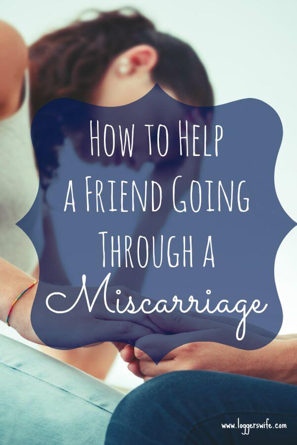 A miscarriage can be one of the most heartbreaking things a women can go through. Read more to see how you can help a friend going through a miscarriage.