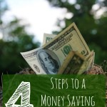4 Steps to a Money Saving Plan