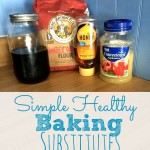 Simple Healthy Baking Substitutes