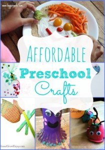 Affordable Preschool Crafts