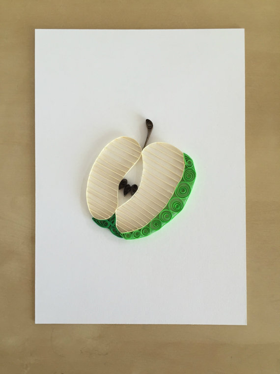 papery craftery apple