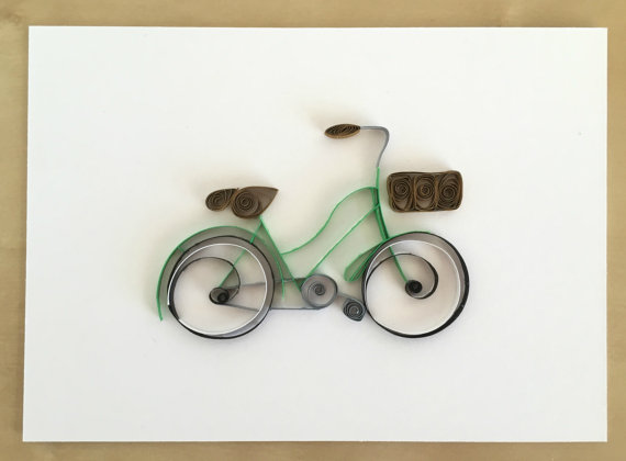 papery craftery bicycle