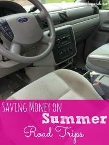 Saving Money on Summer Road Trips