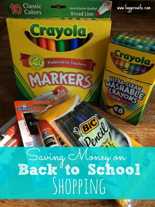 Back to school shopping is upon us! Be sure to follow these four tips to get the most out of your money for a no stress back school season.