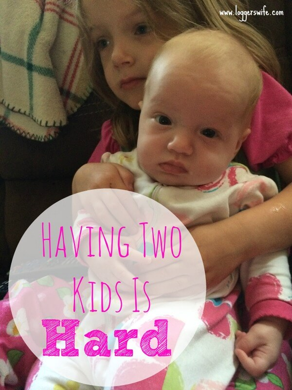 Parenting is hard. Small children are hard. Going from one kid to two kids? Having two kids is hard! Come read and we can commiserate together.