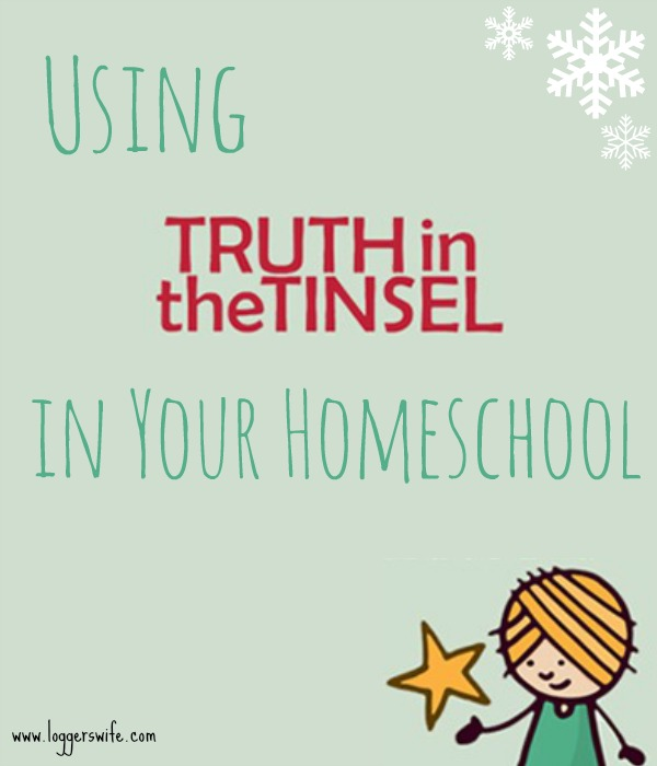 Trying to figure out how to include Truth in the Tinsel in your homeschool plan? Check out these super easy tips!