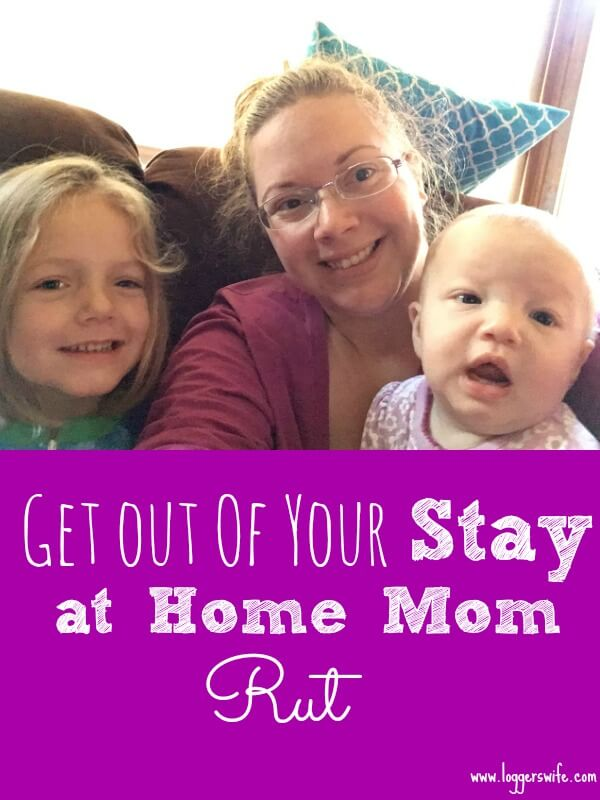 In a stay at home mom rut? Try these five tips to get out of it and bring some life back into your days.