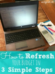 How to Refresh Your Budget in 3 Simple Steps