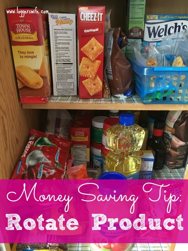Sometimes the simple money saving tip is the best one. See what rotating your products can save you lots in the long run.